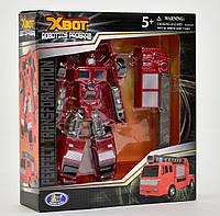 Трансформер Пожарная машина в коробке