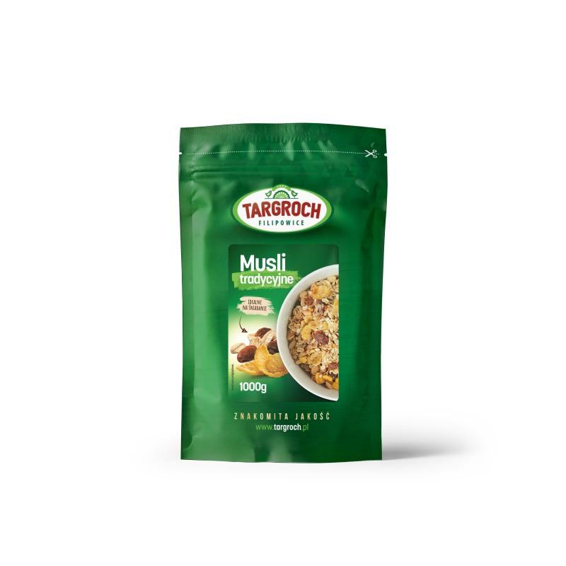 Мюсли традиционные (без консервантов) 1 кг, Targroch