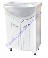 Тумба Для ванной комнаты Дакар декор Т1 с умывальником Лотос-56