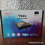 ТВ-Приставка SMART TV T96V 2gb\16gb S905W+BT, фото 3