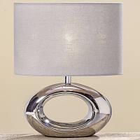 Лампа Нежность серебряная керамика h33см 8095500