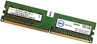 Оперативная память Hynix DDR2 1Gb 800MHz PC2 6400U 1R8 CL6 (HYMP112U64CP8-S6 AB) Б/У, фото 1