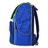 """555120 Рюкзак шкільний каркасний 1 Вересня H-11 """"Turtlels"""", фото 3"""