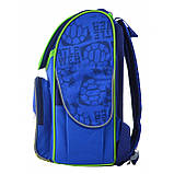 """555120 Рюкзак школьный каркасный 1 Вересня H-11 """"Turtlels"""", фото 3"""