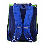 """555120 Рюкзак шкільний каркасний 1 Вересня H-11 """"Turtlels"""", фото 4"""