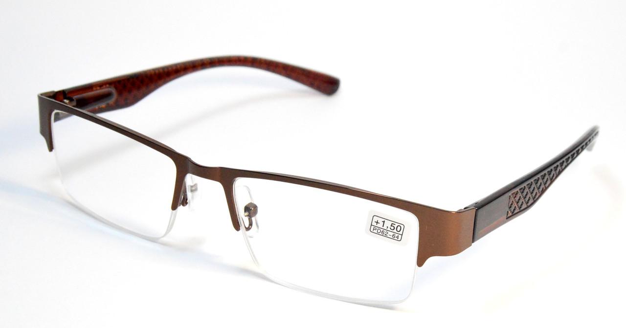 Очки для зрения полуоправные (МС 9037)