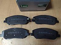 "Колодки тормозные передние HYUNDAI SANTA FE II 2.0-2.7 2005>, KIA SORENTO II 2009>; ""LPR"" 05P1382 - Италия, фото 1"