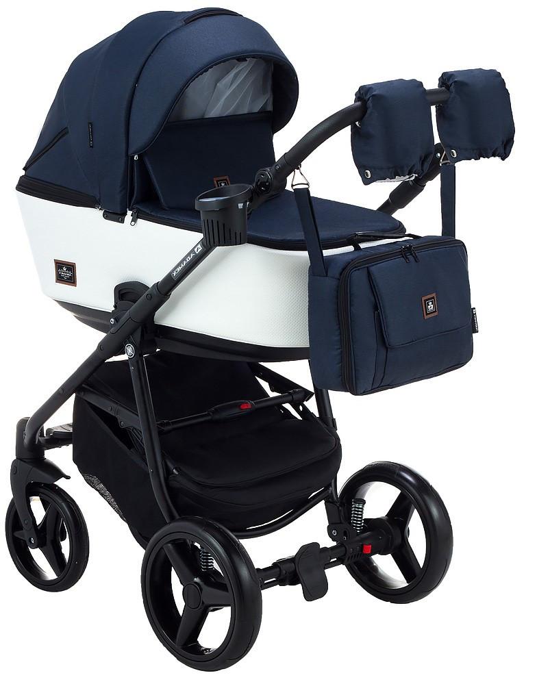 Детская универсальная коляска 2 в 1 Adamex Barcelona BR-203