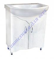 Тумба для ванной комнаты Дакар Т1 декор с умывальником Лотос-70