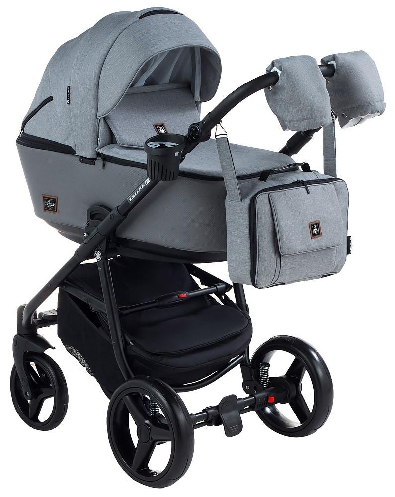 Детская универсальная коляска 2 в 1 Adamex Barcelona BR-260