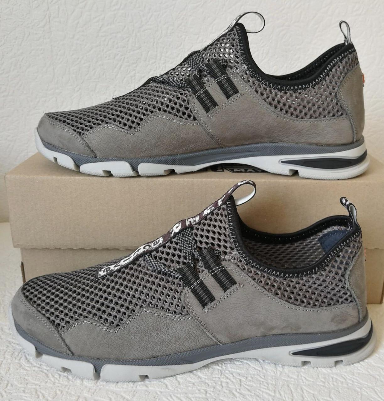 Silver active мужские летние кожаные туфли кроссовки сетка легкие и удобные