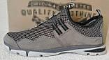 Silver active мужские летние кожаные туфли кроссовки сетка легкие и удобные, фото 8