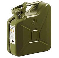 Канистра для бензина 5 л, металлическая Gelg (66576)