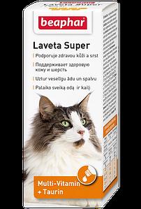 Кормовая добавка Laveta Super для кошек, для шерсти, 50 мл.