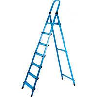 Стремянка металлическая 8 ступ. Works 408 (63275)