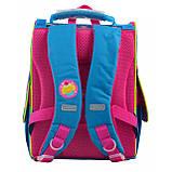 """555162 Рюкзак шкільний каркасний 1 Вересня H-11 """"Trolls"""", фото 5"""