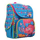 """555162 Рюкзак шкільний каркасний 1 Вересня H-11 """"Trolls"""", фото 2"""