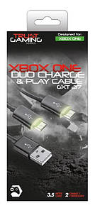 Кабель для зарядки геймпада Trust GXT 221 Duo Charge Cable for Xbox one BLACK