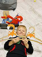 Детские плечики, вешалки детские, плечики для детской одежды, деревянные вешалки,