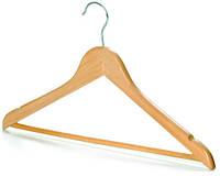 Вешалка-плечики для одежды деревянная 10шт