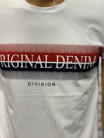 Футболка чоловіча Original Denim Білий, фото 2