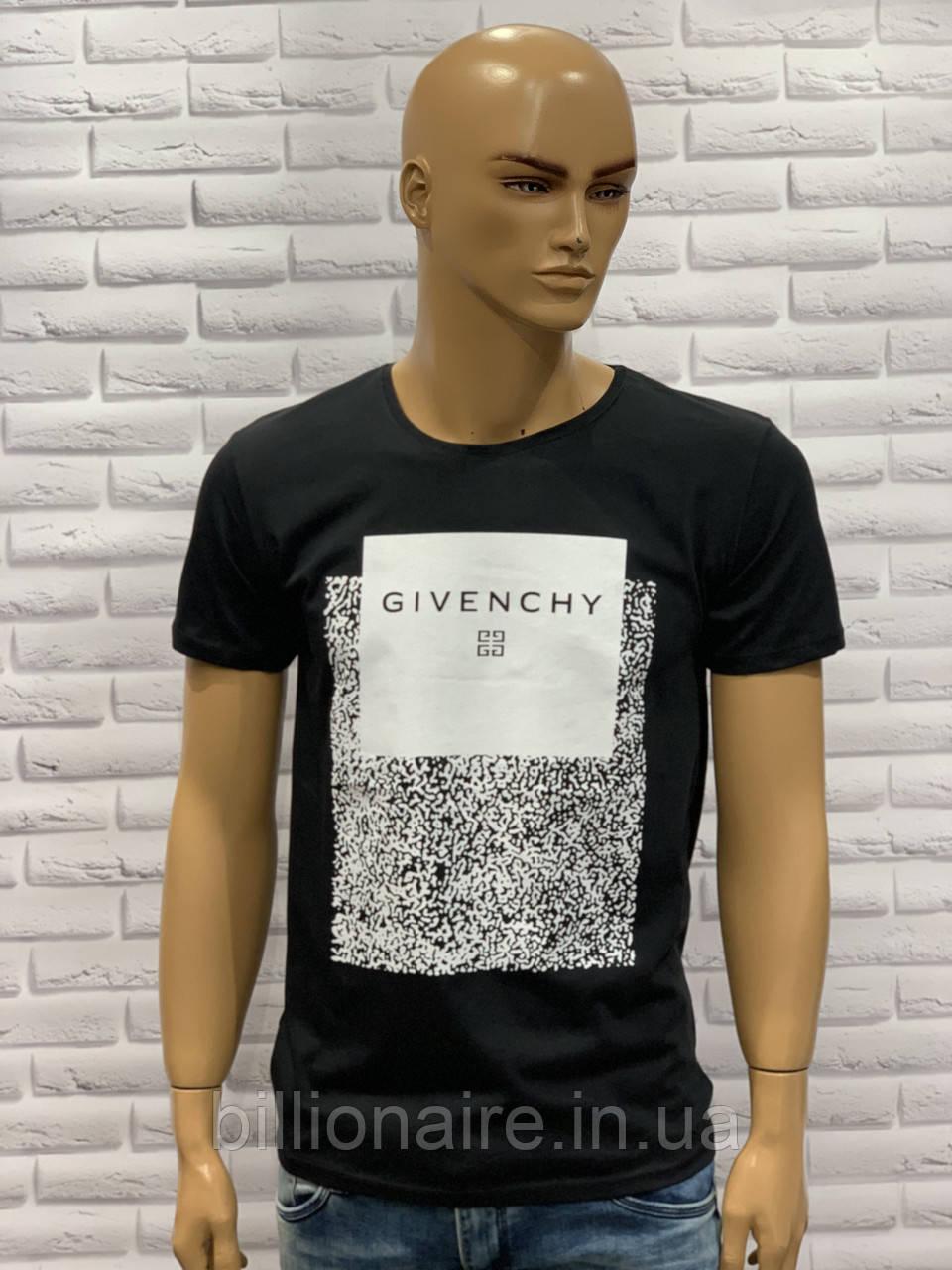 Футболка чоловіча Givenchy Репліка Чорний