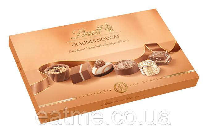 Шоколадные конфеты пралине Lindt