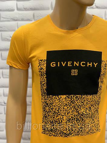 Футболка чоловіча Givenchy Репліка Жовтий, фото 2
