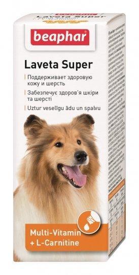 Витамины для собак Beaphar Laveta Super от линьки 50 мл