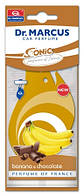 Освежитель подвесной в салон автомобиля Dr. Marcus Sonic Банан и Шоколад