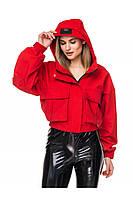 Демисезонная женская куртка с капюшоном, фото 1