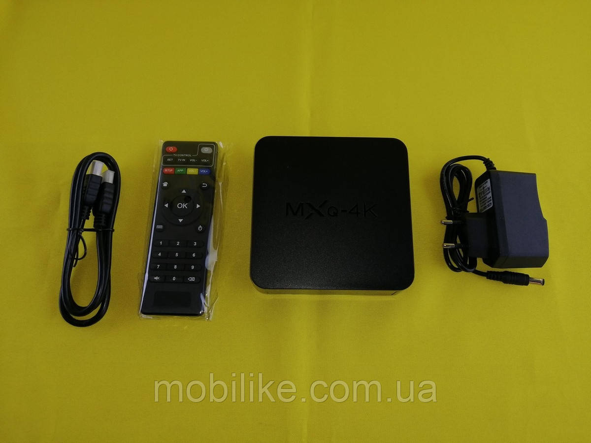 Тв-приставка MXQ 4K (2 Gb RAM / 4 Gb Flash)
