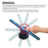 Голографический 3D проектор вентилятор Holographic FAN / Голографический 3d проектор вентилятор, фото 3