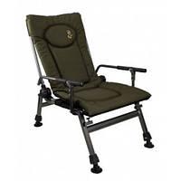 Кресло карповое складное Elektrostatyk F5R с подлокотниками