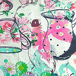 10349-2, павлопосадский платок (на голову, шейный) хлопковый (батистовый) с подрубкой   Первый сорт, фото 4