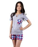 Женская пижама с шортами (XS-XL)