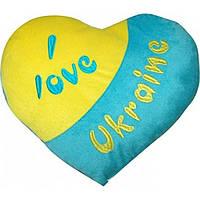 """""""Подушка-сердце"""" (Я люблю Украину) ПД-0121 / Тигрес"""