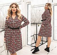 Женское платье большого размера.Размеры:48-62.+Цвета, фото 1