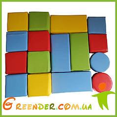 Мягкие модули конструкторы KIDIGО «Игра» (16 элементов)