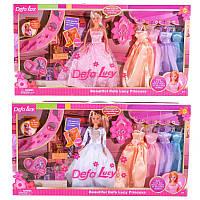 """Лялька """"Defa"""" 29 см, кіт, одяг, взуття 6073B"""