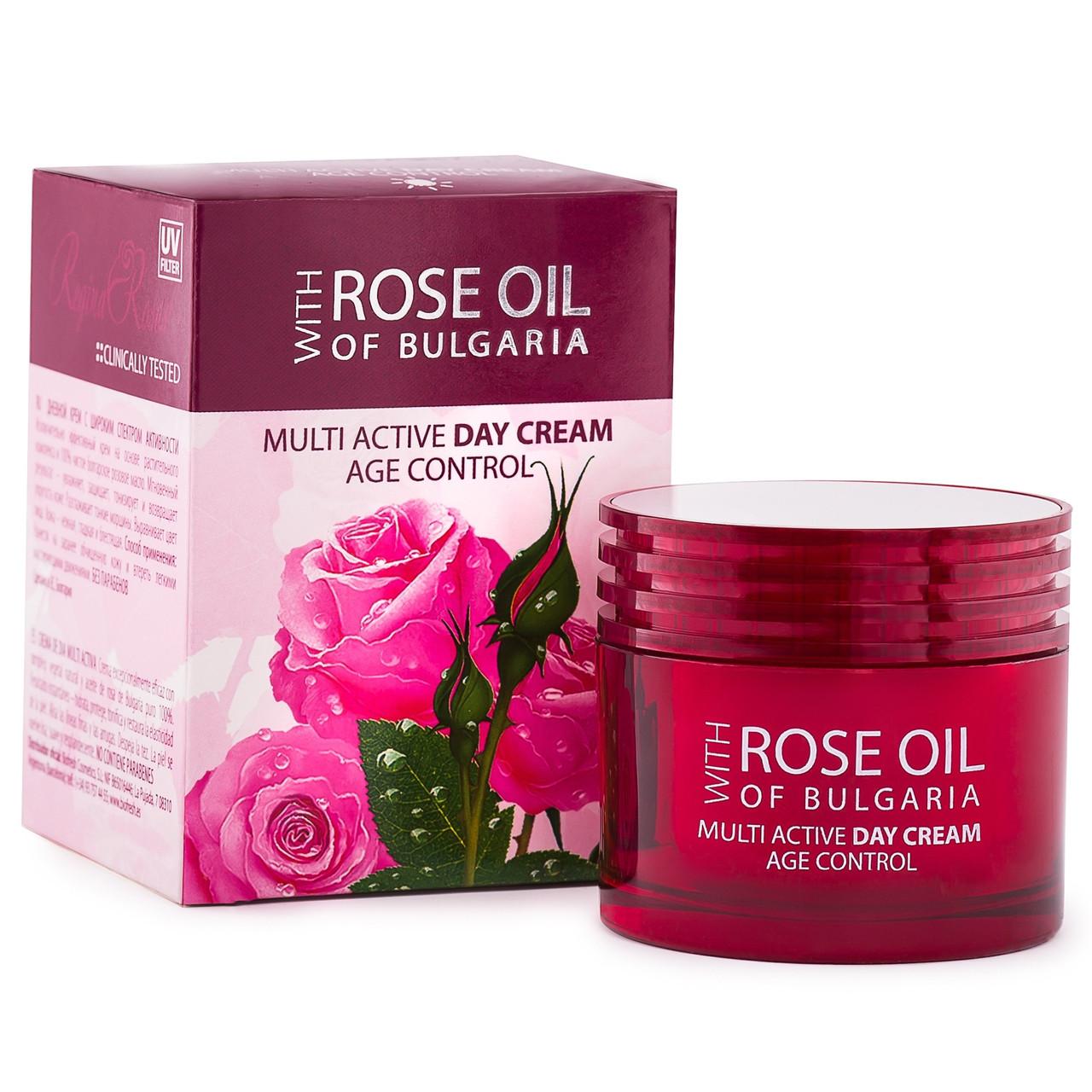 Мультиактивный дневной крем для лица/MULTI ACTIVE DAY CREAM ROSE OIL OF BULGARIA