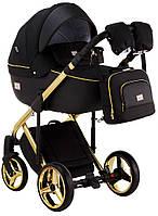 Детская универсальная коляска 2 в 1 Adamex Luciano Polar Gold Q85