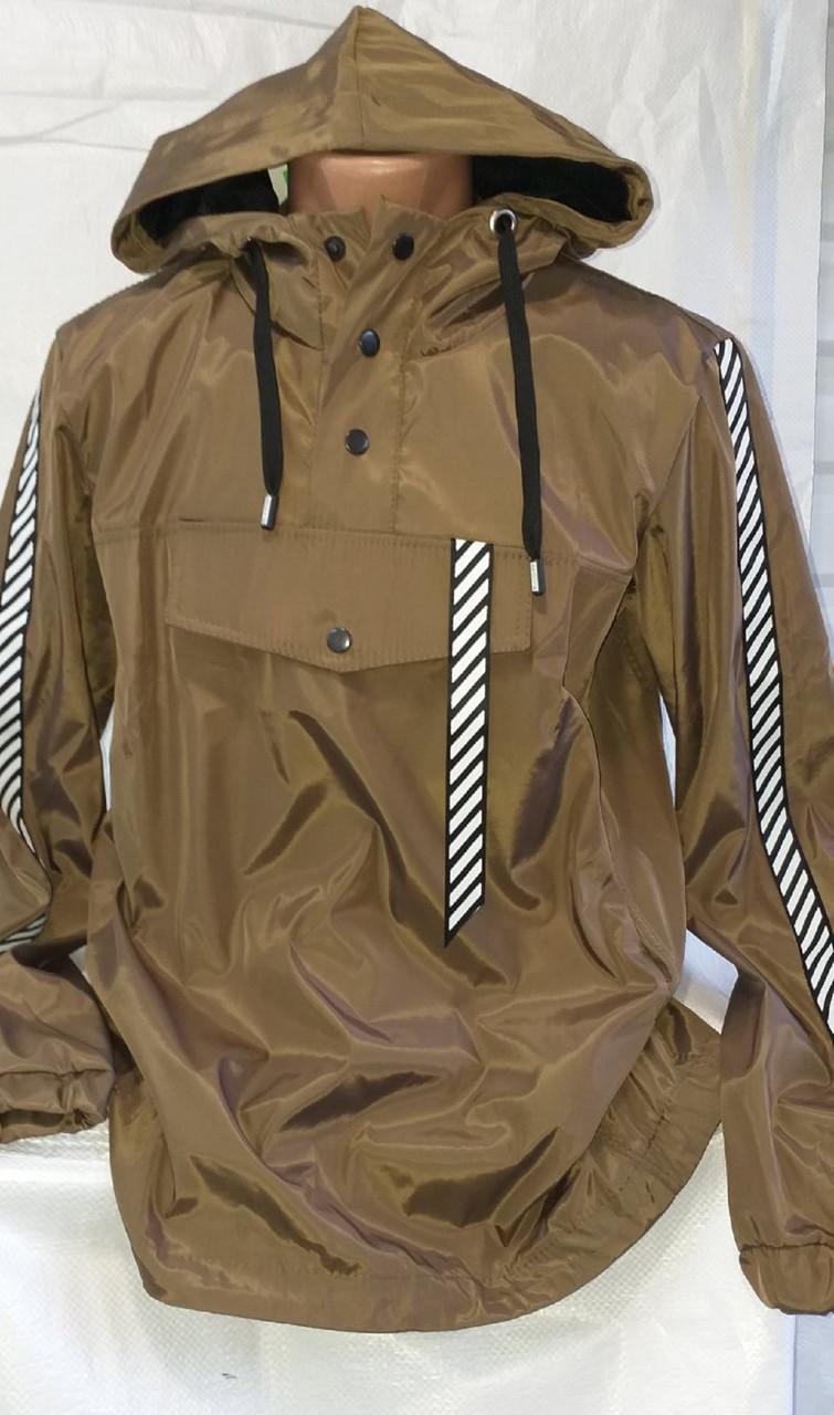 Куртка мужская анорак деми s m I xl