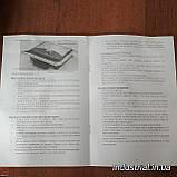 Электрогриль Crownberg CB 1067 прижимной  с терморегулятором 2000Вт, фото 9