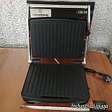Электрогриль Crownberg CB 1067 прижимной  с терморегулятором 2000Вт, фото 6