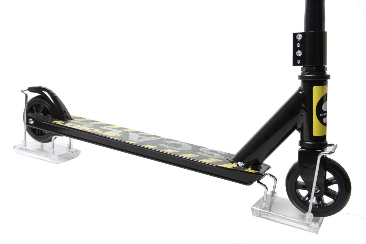 Трюковый самокат Scale Sports Tornado черный