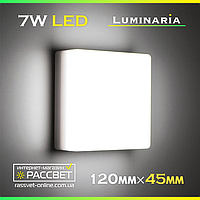Светодиодный светильник LUMINARIA NLS-7W AC170-265V 7Вт 600Lm 5000K (настенно-потолочный)