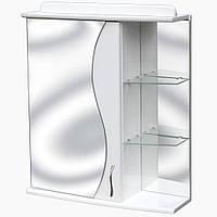 Зеркало-шкаф дляванной с подсветкой З-15 (50-70 см)