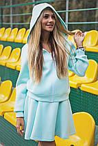 Женская куртка с капюшоном из неопрена (1244 sk), фото 2