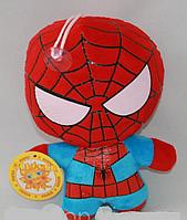 Мягкая Игрушка Спайдер Мен  Spider Man на присоске 20 см